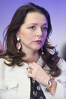 ValÈrie Boyer assiste au voeux de FranÁois Fillon destinÈs ‡ la presse et aux parlementaires ‡ son QG de campagne, le 10 janvier 2017 ‡ Paris