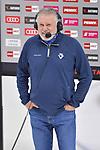 Chef-Trainer Doug Shedden (ERC Ingolstadt) vor dem Spiel im Interview bei Magenta Sport beim Spiel in der Gruppe Sued der DEL, ERC Ingolstadt (dunkel) - Augsburger Panther (hell).<br /> <br /> Foto © PIX-Sportfotos *** Foto ist honorarpflichtig! *** Auf Anfrage in hoeherer Qualitaet/Aufloesung. Belegexemplar erbeten. Veroeffentlichung ausschliesslich fuer journalistisch-publizistische Zwecke. For editorial use only.