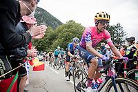 Dauphiné winner just 3 weeks earlier Daniel Felipe Martínez (COL/EF) up the Col de Marie Blanque (1st Cat)<br /> <br /> Stage 9 from Pau to Laruns (153km)<br /> <br /> 107th Tour de France 2020 (2.UWT)<br /> (the 'postponed edition' held in september)<br /> <br /> ©kramon