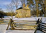 Washington's Headquarters at Valley Forge, Pennsylvania