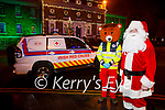 Santa and Red Fred launch the Tralee Branch Red Fred/Santa Claus Zoom on Saturday.