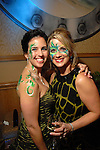 Kelly Parks and Lisa Callas at the San Luis Mardi Gras Ball in Galveston Friday Feb. 01,2008.(Dave Rossman/For the Chronicle)