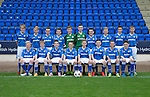 St Johnstone FC Academy Under 14's<br /> Back from left, Thomas Gray, Ciaran Ferns, Steven McGuigan, Sean Hastie, Peter Nelson, Josh Scoon, Thomas Penker, Blair Pringle, Murray Findlay and Ross Corbett.<br /> Front row left, Harris MacIntosh, Rory Hutchison, Blair White, Kyle Burns, Jordan Northcott, James O'Connor, Fraser Corbett and Andrew MacKenzie.<br /> Picture by Graeme Hart.<br /> Copyright Perthshire Picture Agency<br /> Tel: 01738 623350  Mobile: 07990 594431