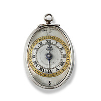 BNPS.co.uk (01202 558833)<br /> Pic: DeepSouthMedia/BNPS<br /> <br /> Pictured: The silver pocket watch.<br /> <br /> A silver pocket watch that belonged to Lord Protector Oliver Cromwell has been unearthed after 369 years.<br /> <br /> The republican had the small timepiece on him in 1650 during his New Model Army's campaign in Ireland.<br /> <br /> Cromwell, who defeated King Charles I in the English Civil War, gave the watch to John Blackwell, deputy treasurer-at-war and an officer in the cavalry during the Siege of Cronmel in Ireland.<br /> <br /> It remained in the Blackwell family until it was sold to antique expert Martyn Downer who paid a not inconsiderable £18,000 for it.