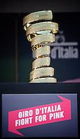 the actual Giro trophy<br /> <br /> stage 3: Nijmegen-Arnhem (NLD) 190km<br /> 99th Giro d'Italia 2016