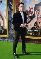 "LOS ANGELES, USA. January 11, 2020: Rami Malek at the premiere of ""Dolittle"" at the Regency Village Theatre.<br /> Picture: Paul Smith/Featureflash"