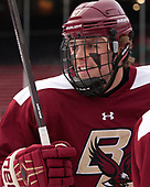 Graham McPhee (BC - 27) - The Boston College Eagles practiced on the rink at Fenway Park on Friday, January 6, 2017.