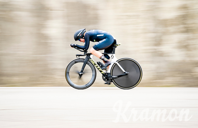 Georgia Williams (NZL/Mitchelton-Scott)<br /> <br /> Women Elite Time trial from Imola to Imola (31.7km)<br /> <br /> 87th UCI Road World Championships 2020 - ITT (WC)<br /> <br /> ©kramon