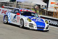 #80 (GTC) Car Amigo/Alex Job Racing Porsche 911 GT3 Cup, Ricardo Gozalez, Luis Diaz & P. Kelly