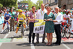 Ready for the start of Stage 11 of the 2019 Tour de France running 167km from Albi to Toulouse, France. 17th July 2019.<br /> Picture: ASO/Olivier Chabe   Cyclefile<br /> All photos usage must carry mandatory copyright credit (© Cyclefile   ASO/Olivier Chabe)