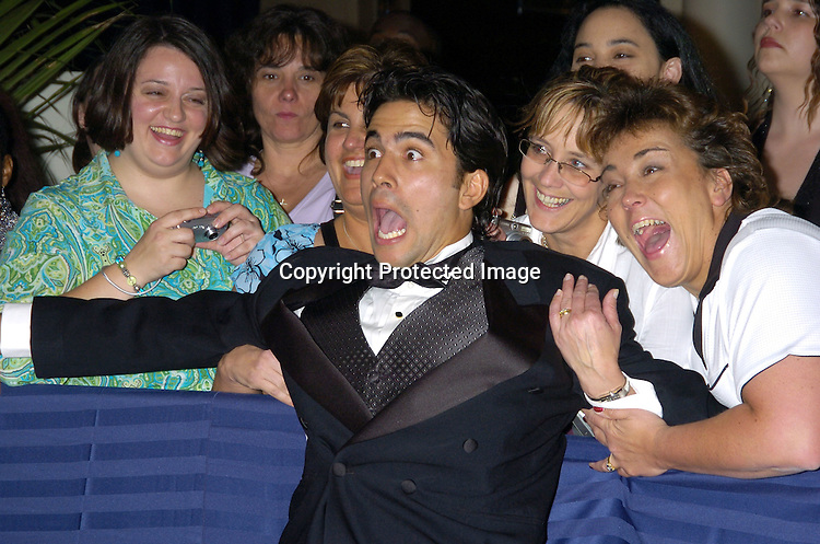 Ignacio Serricchio arriving at The 32nd Annual Daytime Emmy Awards ..at Radio City Music Hall on May 20, 2005...Photo by Robin Platzer, Twin Images