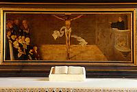 Deutschland, Sachsen-Anhalt, Stadtkirche St. Marien in Wittenberg, Cranach-Altar, Unesco-Weltkulturerbe.worldheritage