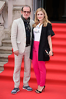 """director, Bjorn Runge and Alix Wilton Regan<br /> arriving for the premiere of """"The Wife"""" at Somerset House, London<br /> <br /> ©Ash Knotek  D3418  09/08/2018"""