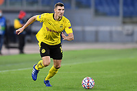 Thomas Meunier of Borussia Dortmund in action during the Champions League Group Stage F day 1 football match between SS Lazio and Borussia Dortmund at Olimpic stadium in Rome (Italy), October, 200 Italy, 2020. Photo Andrea Staccioli / Insidefoto