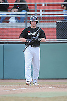 Cincinnati Bearcats outfielder Taylor Schmidt (3) during 1st game of double header against the St. John's Redstorm at Jack Kaiser Stadium on March 28, 2013 in Queens, New York. St. John's defeated Cincinnati 6-5.      . (Tomasso DeRosa/ Four Seam Images)