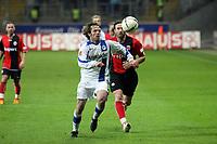 Ioannis Amanatidis (Eintracht) gegen Bernd Korzynietz (Bielefeld)<br /> Eintracht Frankfurt vs. Arminia Bielefeld, Commerzbank Arena<br /> *** Local Caption *** Foto ist honorarpflichtig! zzgl. gesetzl. MwSt. Auf Anfrage in hoeherer Qualitaet/Aufloesung. Belegexemplar an: Marc Schueler, Am Ziegelfalltor 4, 64625 Bensheim, Tel. +49 (0) 6251 86 96 134, www.gameday-mediaservices.de. Email: marc.schueler@gameday-mediaservices.de, Bankverbindung: Volksbank Bergstrasse, Kto.: 151297, BLZ: 50960101