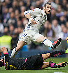 Gareth Bale of Real Madrid scores during the match Real Madrid vs RCD Espanyol, a La Liga match at the Santiago Bernabeu Stadium on 18 February 2017 in Madrid, Spain. Photo by Diego Gonzalez Souto / Power Sport Images