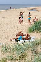 Strand bei Dzeni, Lettland, Europa
