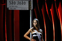 SAO PAULO, SP. 16.05.2015 - MISS-SÃO PAULO -  A terceira colocada, a miss Rio Claro Beatriz Patrony durante a 61º edição do concurso Miss São Paulo, na noite deste sábado (16), no Anhembi, na zona norte da capital paulista.  (Foto: Adriana Spaca/Brazil Photo Press)