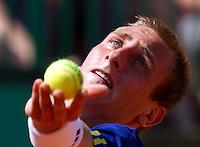 23-05-10, Tennis, France, Paris, Roland Garros, First round match, Thiemo de Bakker