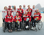 Rio 2016 - Para Sailing // Voile adapteé.<br /> Medal Ceremony at the Marina da Gloria // Cérémonie de remise des médailles à la Marina da Gloria. 17/09/2016.
