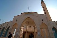 GERICO / ISRAELE.LA MOSCHEA ZEID BEN HARETH..FOTO LIVIO SENIGALLIESI