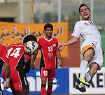 Al Wahda vs Salam Zgharta during the 2015 AFC Cup 2015 Group A match on May 12, 2015 at the Buraimi Sports Complex  in Al Buraimi, Oman. Photo by Adnan Hajj / World Sport Group