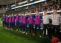 Carson, CA - Sunday January 28, 2018:  during an international friendly between the men's national teams of the United States (USA) and Bosnia and Herzegovina (BIH) at the StubHub Center.
