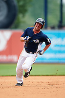 West Michigan Whitecaps designated hitter Joey Pankake (20) running the bases during a game against the Cedar Rapids Kernels on June 7, 2015 at Fifth Third Ballpark in Comstock Park, Michigan.  West Michigan defeated Cedar Rapids 6-2.  (Mike Janes/Four Seam Images)