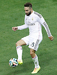 Real Madrid's Daniel Carvajal during Supercup of Spain 2nd match.August 19,2014. (ALTERPHOTOS/Acero)