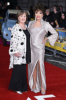 """Pauline Collins and Dame Joan Collins<br /> arrives for the premiere of """"The Time of Their Lives"""" at the Curzon Mayfair, London.<br /> <br /> <br /> ©Ash Knotek  D3239  08/03/2017"""
