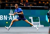 Rotterdam, The Netherlands, 12 Februari 2020, ABNAMRO World Tennis Tournament, Ahoy. Daniil Medvedev (RUS). <br /> Photo: www.tennisimages.com