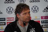 Co-Trainer/Assistenztrainer Marcus Sorg (Deutschland Germany) - Stuttgart 30.08.2021: Pressekonferenz der Deutschen Nationalmannschaft, Waldau Park Stuttgart
