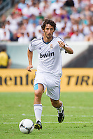 Esteban Granero (11) of Real Madrid. Real Madrid defeated Celtic F. C. 2-0 during a 2012 Herbalife World Football Challenge match at Lincoln Financial Field in Philadelphia, PA, on August 11, 2012.