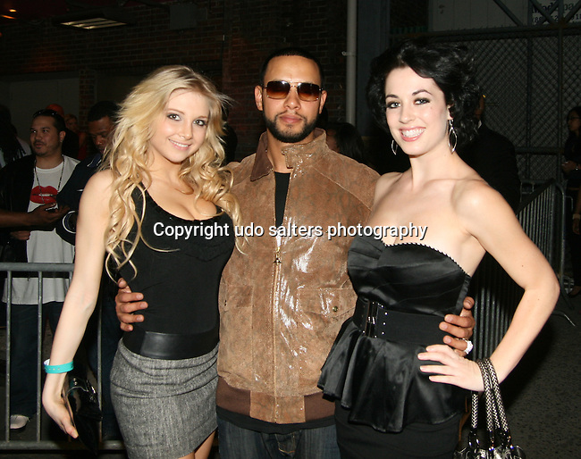 Juliana Semenova, Director X and Daniela Dib attend the National Museum of Hip Hop VIP Launch Event: Hip-Hop Immortal Hosted by Chuck D and KRS One at M2 Ultra Lounge, New York 4/6/10