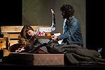 "Manuela Velasco and Tamar Novas during theater play ""Todo es Mentira"" at Teatro Lara  in Madrid . March 30, 2016. (ALTERPHOTOS/Borja B.Hojas)"