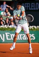 01-06-13, Tennis, France, Paris, Roland Garros,  Djokovic