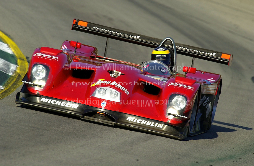 Petit Le Mans, Road Atlanta, Brazelton,GA,USA .30 September,2000  copyright©F.Peirce Williams 2000.David Brabham in the #1 Panoz LMP Roadster..