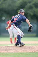 August 12, 2008: Terrence Wohlever of the GCL Braves.  Photo by: Chris Proctor/Four Seam Images