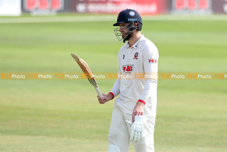 Paul Walter of Essex leaves the field having been dismissed for 96 during Essex CCC vs Gloucestershire CCC, LV Insurance County Championship Division 2 Cricket at The Cloudfm County Ground on 6th September 2021