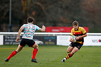 Morgan Ward of Richmond Rugby during the English National League match between Richmond and Blackheath  at Richmond Athletic Ground, Richmond, United Kingdom on 4 January 2020. Photo by Carlton Myrie.