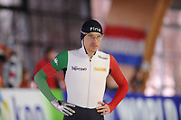 SPEEDSKATING: ERFURT: 19-01-2018, ISU World Cup, 500m Men B Division, Mirko Giacomo Nenzi (ITA), photo: Martin de Jong