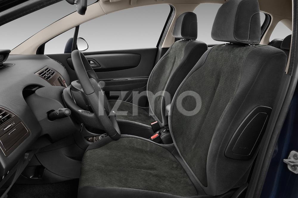 Front seat view of a 2010 Citroen C4 Millenium 5 Door Hatchback 2WD