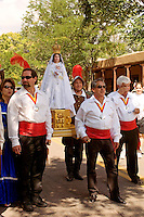 La Conquistadora procession at the Fiesta de Santa Fe, New Mexic