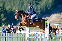 NZL-Michael Boulgaris rides Ngahiwi Double Cross. Class 24: Horse 1.00m Ranking Class. 2021 NZL-Easter Jumping Festival presented by McIntosh Global Equestrian and Equestrian Entries. NEC Taupo. Saturday 3 April. Copyright Photo: Libby Law Photography