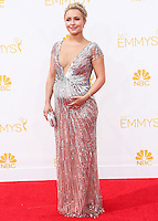 LOS ANGELES, CA, USA - AUGUST 25: Actress Hayden Panettiere arrives at the 66th Annual Primetime Emmy Awards held at Nokia Theatre L.A. Live on August 25, 2014 in Los Angeles, California, United States. (Photo by Celebrity Monitor)