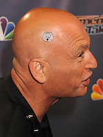 NEW YORK CITY, NY, USA - AUGUST 13: Howie Mandel arrives at the 'America's Got Talent' Season 9 Post Show Red Carpet held at Radio City Music Hall on August 13, 2014 in New York City, New York, United States. (Photo by Celebrity Monitor)