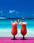BRB, Barbados, Zwei Cocktails am Strand | BRB, Barbados, two cocktails on the beach