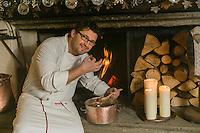 Italie, Val d'Aoste,Courmayeur: Auberge de la Maison, Via Passerin d'Entrèves  // Italy, Aosta Valley, Courmayeur: