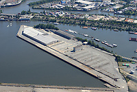 Mittlerer Freihafen, Travehafen, Oderhafen: EUROPA, DEUTSCHLAND, HAMBURG 22.08.2018 Mittlerer Freihafen, Travehafen, Oderhafen